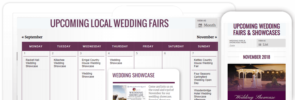 Wedding Fairs Ireland - Wedding Venue Fairs & Showcases