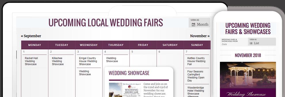 Wedding Fairs Ireland - Wedding Venue Fairs & Showcases